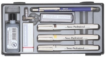 Tuschestifte isograph STANO Professional 4er Set